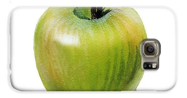 Juicy Green Apple Galaxy S6 Case by Irina Sztukowski
