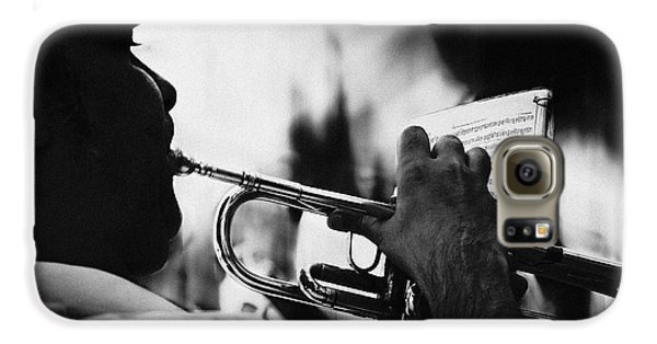 Trumpet Galaxy S6 Case - Just Follow My Lead by Rui Correia