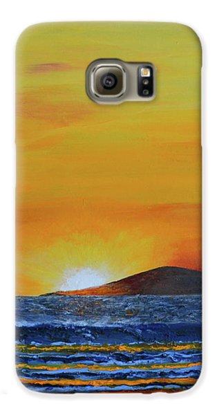 Just Left Maui Galaxy S6 Case