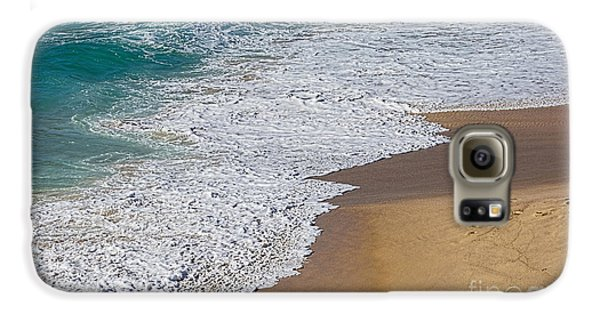 Just Waves And Sand By Kaye Menner Galaxy S6 Case