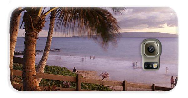 Kai Makani Hoohinuhinu O Kamaole - Kihei Maui Hawaii Galaxy S6 Case