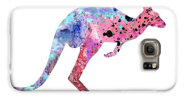 Kangaroo Galaxy S6 Case - Kangaroo 2 by Watercolor Girl