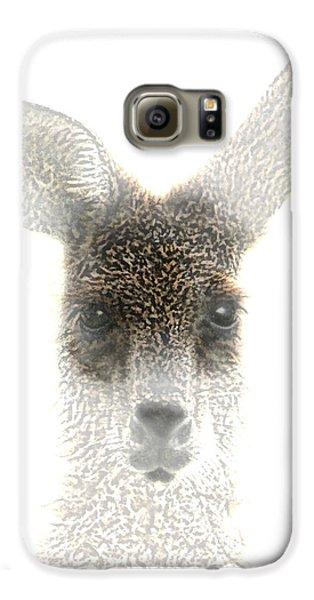 Kangaroo Galaxy S6 Case - Kangaroo by Holly Kempe