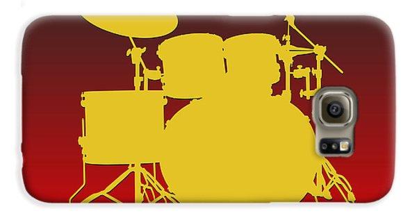 Kansas City Chiefs Drum Set Galaxy S6 Case by Joe Hamilton