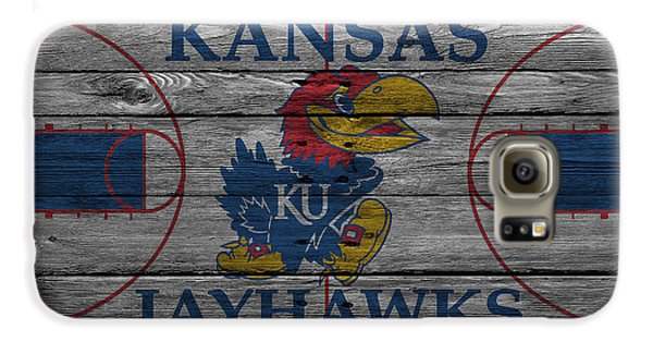 Kansas Jayhawks Galaxy S6 Case by Joe Hamilton