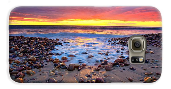 Karrara Sunset Galaxy S6 Case