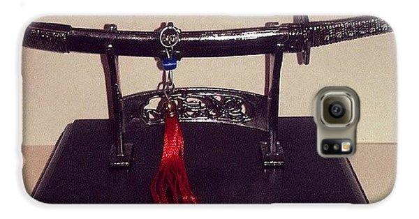 #katana #decorative #miniature #weapon Galaxy S6 Case