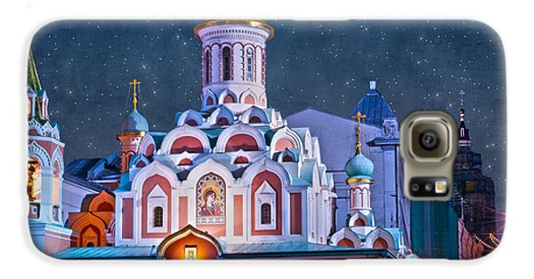 Kazan Cathedral. Red Square. Moscow Russia Galaxy S6 Case by Juli Scalzi