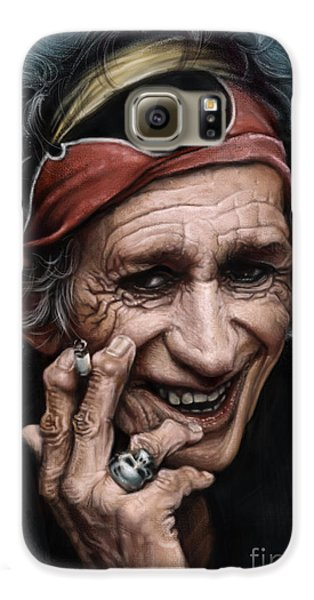 Keith Richards Galaxy S6 Case by Andre Koekemoer