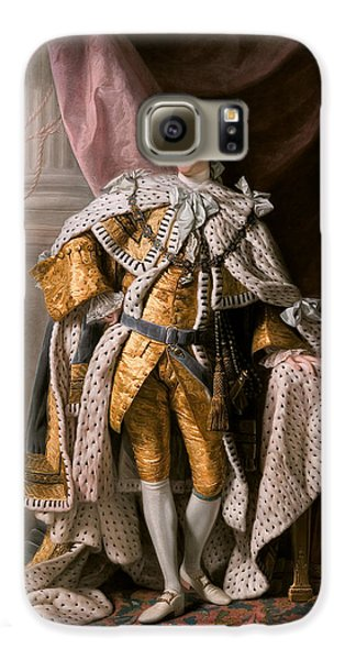 Boy George Galaxy S6 Case - King George IIi In Coronation Robes by Celestial Images