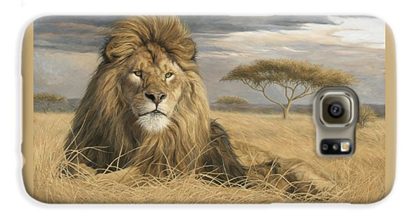 Lion Galaxy S6 Case - King Of The Pride by Lucie Bilodeau
