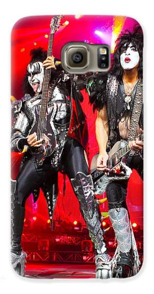 Kiss - 40th Anniversary Tour Live - Simmons And Stanley Galaxy S6 Case by Epic Rights