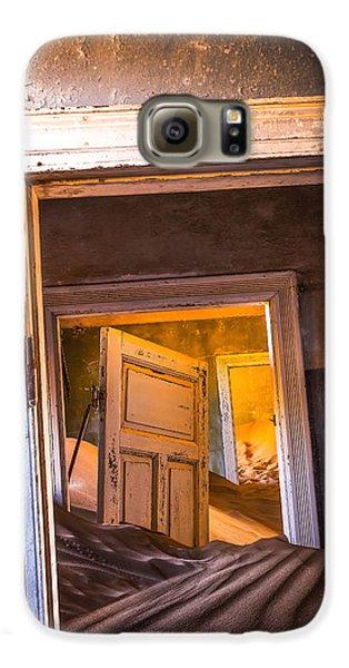Town Galaxy S6 Case - Kolmanskop - Blue Room by Xenia Ivanoff-erb