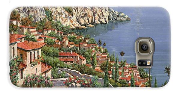 Landscapes Galaxy S6 Case - La Costa by Guido Borelli