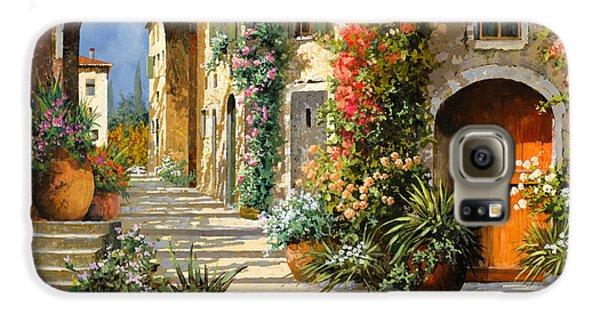 Landscape Galaxy S6 Case - La Porta Rossa Sulla Salita by Guido Borelli