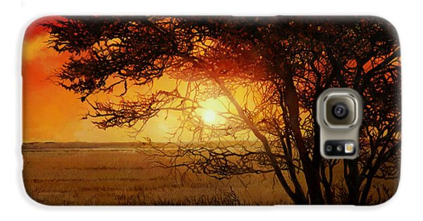 La Savana Al Tramonto Galaxy S6 Case by Guido Borelli