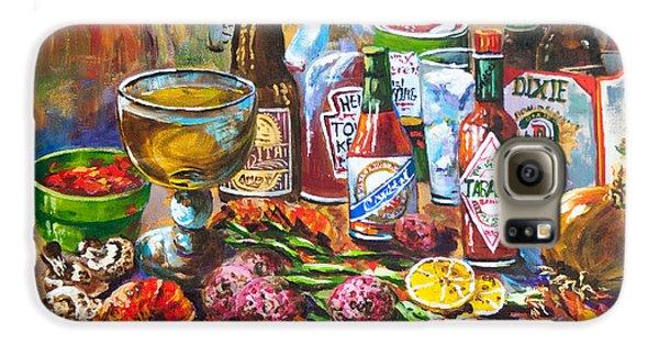 Food And Beverage Galaxy S6 Case - La Table De Fruits De Mer by Dianne Parks