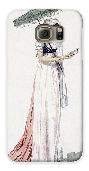 Ladies Elegant Summer Dress Galaxy S6 Case by English School