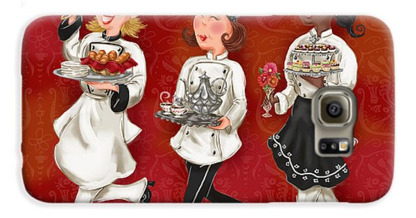Lady Chefs - Brunch Galaxy S6 Case