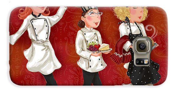 Lady Chefs - Lunch Galaxy S6 Case