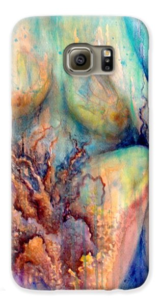 Lady In The Reef Galaxy S6 Case
