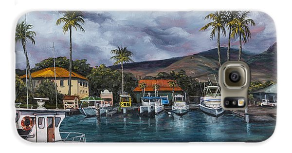 Lahaina Harbor Galaxy S6 Case