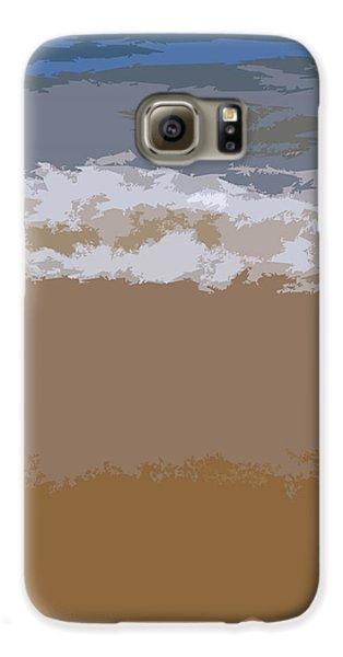 Lake Michigan Shoreline Galaxy S6 Case by Michelle Calkins