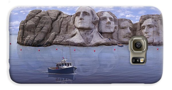Lake Rushmore Galaxy S6 Case by Mike McGlothlen
