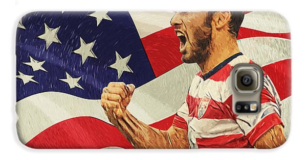 Landon Donovan Galaxy S6 Case by Taylan Apukovska