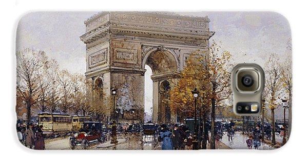 L'arc De Triomphe Paris Galaxy S6 Case