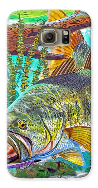 Largemouth Bass Galaxy S6 Case by Carey Chen
