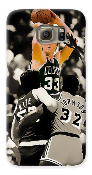Larry Bird Galaxy S6 Case by Brian Reaves