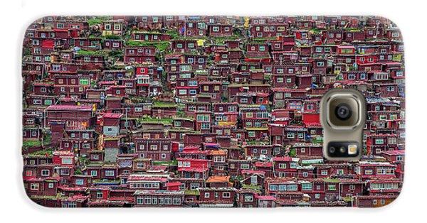 Town Galaxy S6 Case - Larung Gar by Tianyu