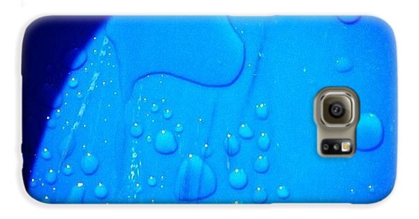 Blue Galaxy S6 Case - Last Nights Rain by Christy Beckwith