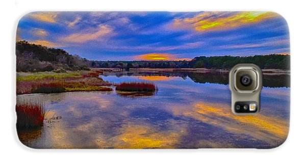 Last Sunset Galaxy S6 Case by Bill Barber