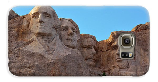 Mount Rushmore Galaxy S6 Case - Late Afternoon, Mount Rushmore National by Michel Hersen