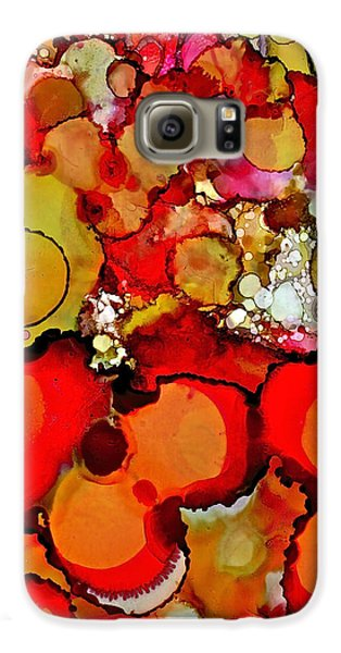Late Summer Flowers Galaxy S6 Case