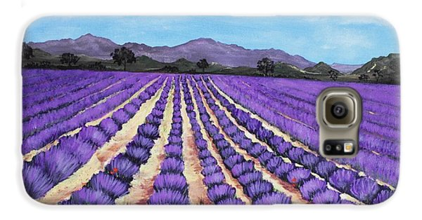 Lavender Field In Provence Galaxy S6 Case