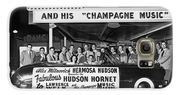 Lawrence Welk In His Hudson Galaxy S6 Case