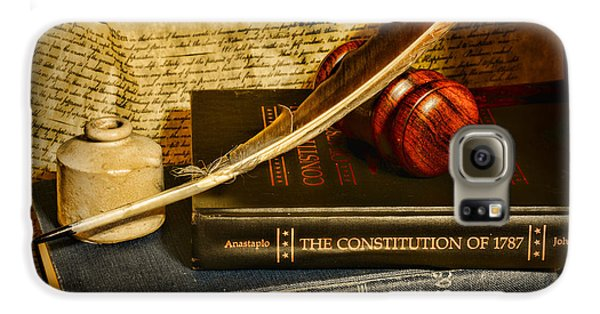 Doctor Galaxy S6 Case - Lawyer - The Constitutional Lawyer by Paul Ward
