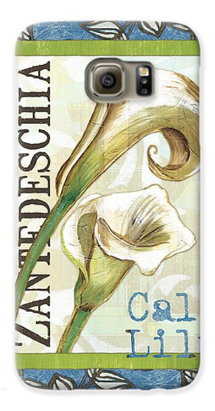 Lazy Daisy Lily 1 Galaxy S6 Case by Debbie DeWitt