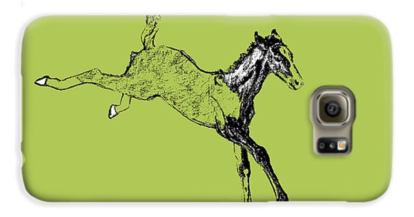 Leaping Foal Greens Galaxy S6 Case