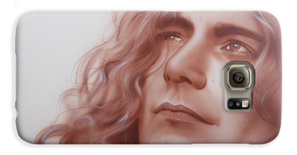 Robert Plant Galaxy S6 Case - Leaves Are Falling All Around by Christian Chapman Art