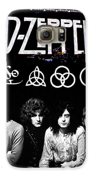 Drums Galaxy S6 Case - Led Zeppelin by FHT Designs