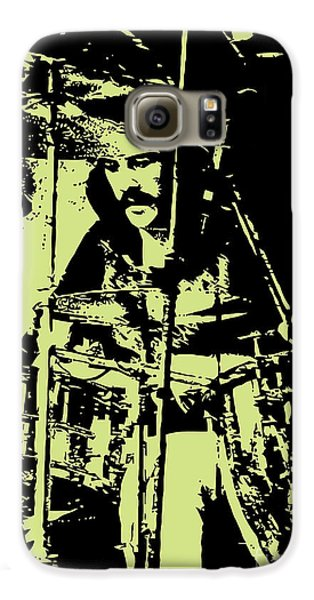Led Zeppelin Galaxy S6 Case - Led Zeppelin No.05 by Fine Artist