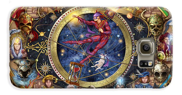 Legacy Of The Divine Tarot Galaxy S6 Case by Ciro Marchetti