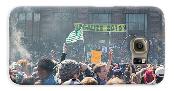 Legalisation Of Marijuana Galaxy S6 Case