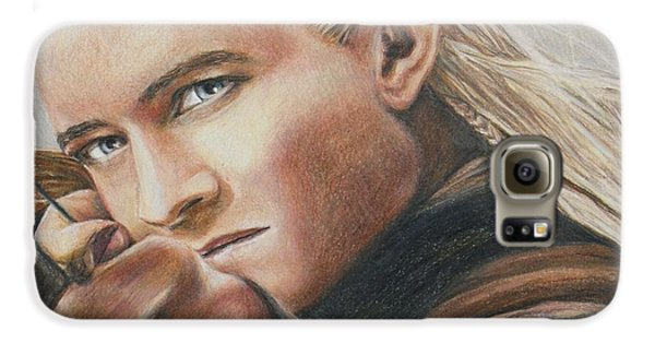 Legolas / Orlando Bloom Galaxy S6 Case by Christine Jepsen