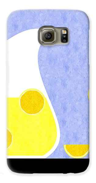 Lemonade And Glass Blue Galaxy S6 Case