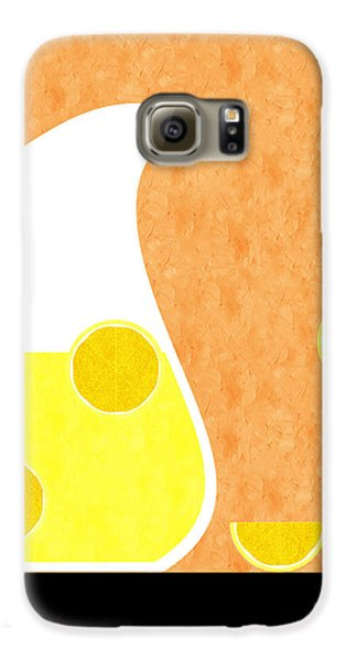 Lemonade And Glass Orange Galaxy S6 Case